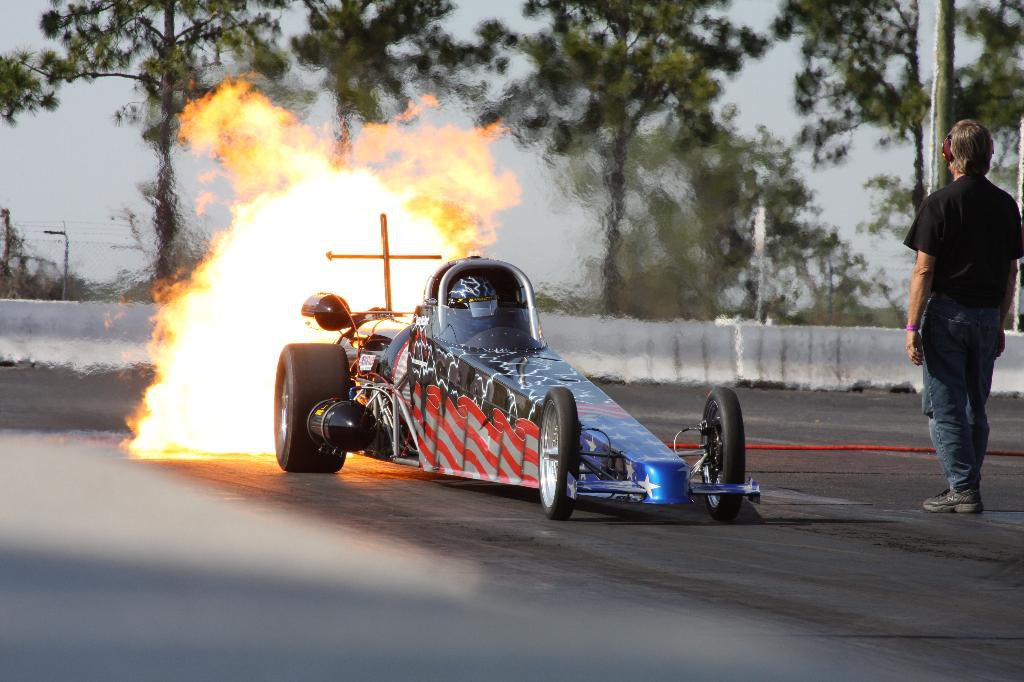Glory Days Jet Dragster